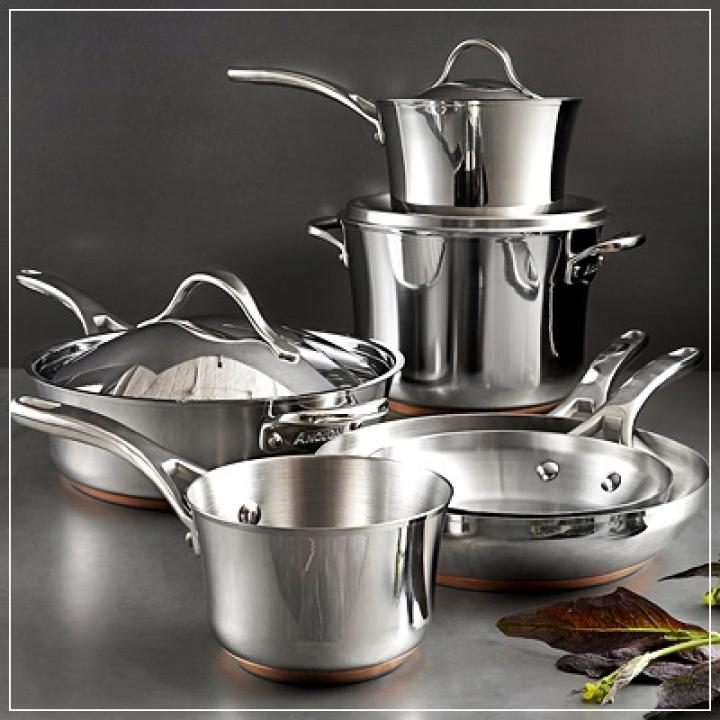 Tips Merawat Peralatan Dapur Berbahan Besi Atau Stainless Steels